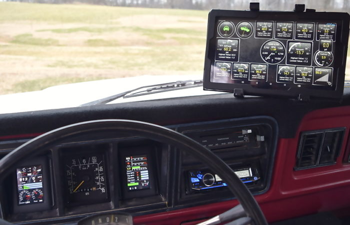 1979 Ford Bronco OneGauge Dash