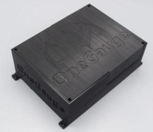 OneGauge Hub in a custom printed box