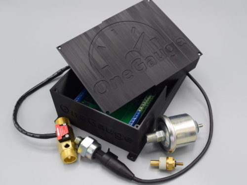 OneGauge Hub with multiple sensors