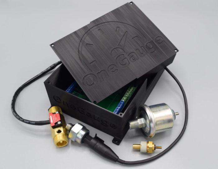 OneGauge Hub with multiple sensors
