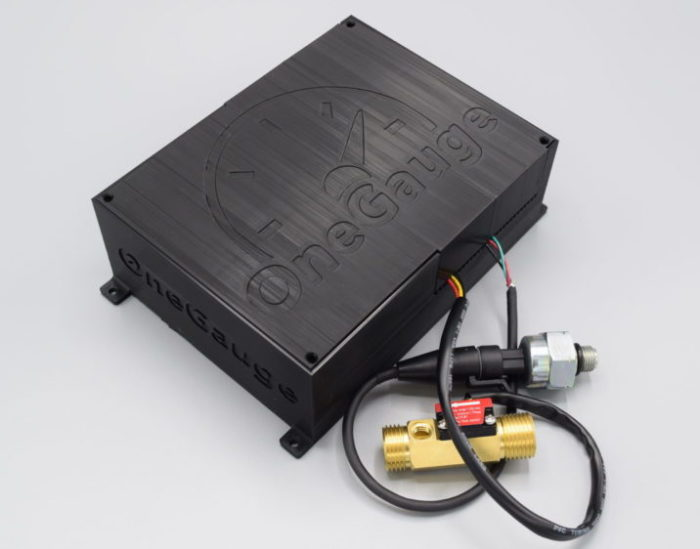 OneGauge Hub with sensors
